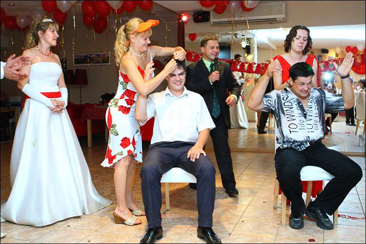 Конкурсы на свадьбах для молодежи